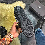 Зимние кроссовки Nike Air Force High Black Fur найк аир форс 1 хай зимові кросівки Nike Air Force 1 High '07, фото 9