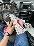 Мужские кроссовки Nike Air Force 1 Low White Red кроссовки найк аир форс лов кросівки Nike Air Force 1 07, фото 4