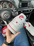 Мужские кроссовки Nike Air Force 1 Low White Red кроссовки найк аир форс лов кросівки Nike Air Force 1 07, фото 5