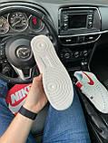 Мужские кроссовки Nike Air Force 1 Low White Red кроссовки найк аир форс лов кросівки Nike Air Force 1 07, фото 6
