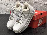 Зимние кроссовки Nike Air Force Reflective найк аир форс 1 07 кроссовки Nike Air Force 1 07 зимові кросівки, фото 3