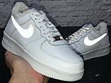 Зимние кроссовки Nike Air Force Reflective найк аир форс 1 07 кроссовки Nike Air Force 1 07 зимові кросівки, фото 7