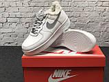 Зимние кроссовки Nike Air Force Reflective найк аир форс 1 07 кроссовки Nike Air Force 1 07 зимові кросівки, фото 10