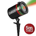 Уличный проектор звезд star shower laser light. Уличный проектор, фото 3
