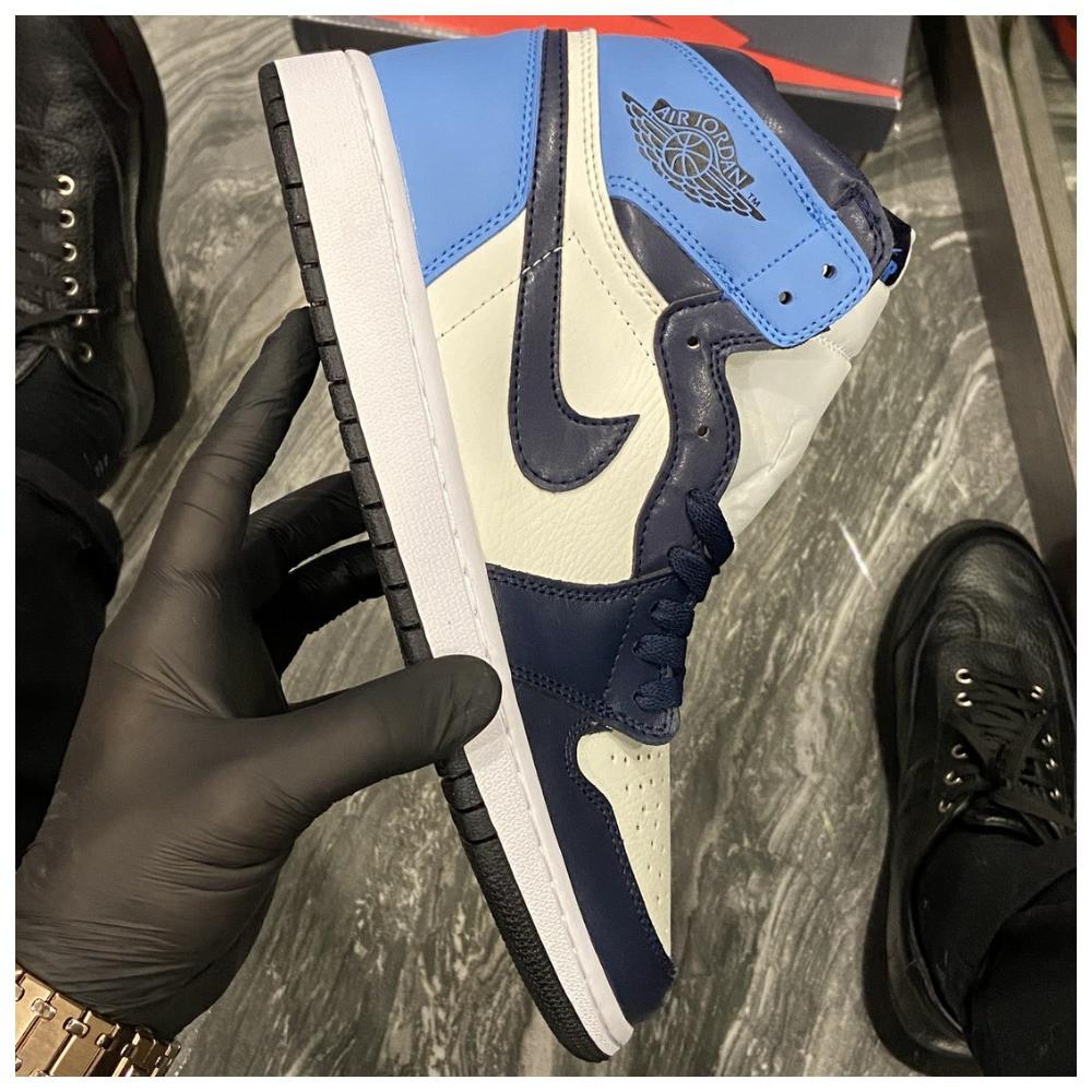 Кроссовки Nike Air Jordan 1 Retro High, кроссовки найк аир джордан 1 ретро, кросівки Nike Air Jordan 1 Blue