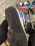 Кроссовки Nike Air Jordan 1 Retro High, кроссовки найк аир джордан 1 ретро, кросівки Nike Air Jordan 1 Blue, фото 6