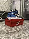 Кроссовки Nike Air Jordan 1 Retro High, кроссовки найк аир джордан 1 ретро, кросівки Nike Air Jordan 1 Blue, фото 9