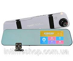 Зеркало заднего вида - видеорегистратор с 2 камерами А29 (6916/А29), авторегистратор | відеореєстратор (TI)