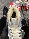 Женские кроссовки Nike Air Jordan 1 Retro Kight Blue, кроссовки найк аир джордан 1 кросівки Nike Air Jordan 1, фото 6