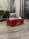 Женские кроссовки Nike Air Jordan 1 Retro Kight Blue, кроссовки найк аир джордан 1 кросівки Nike Air Jordan 1, фото 9