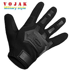 Перчатки тактические Logo Oakley Black