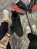 Кроссовки Nike Air Jordan 4 Retro Black Cat, кроссовки найк аир джордан 4 ретро кросівки Nike Jordan 4, фото 3