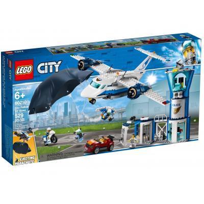 Конструктор LEGO City Воздушная полиция: авиабаза 529 деталей (60210)