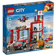 Конструктор LEGO City Пожарное депо 509 деталей (60215)