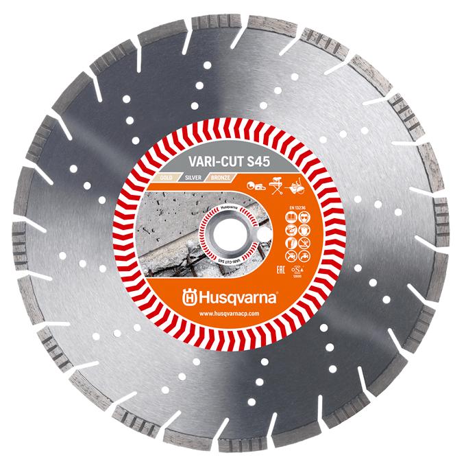 Диск алмазний Husqvarna S1445 350 20-25.4 з/бетон