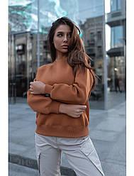 Женский свитшот Staff brown basic fleece