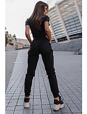 Женские штаны Staff cargo key black, фото 2