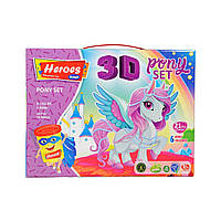 """Набор теста для лепки 3D фигурок """"Пони"""""""