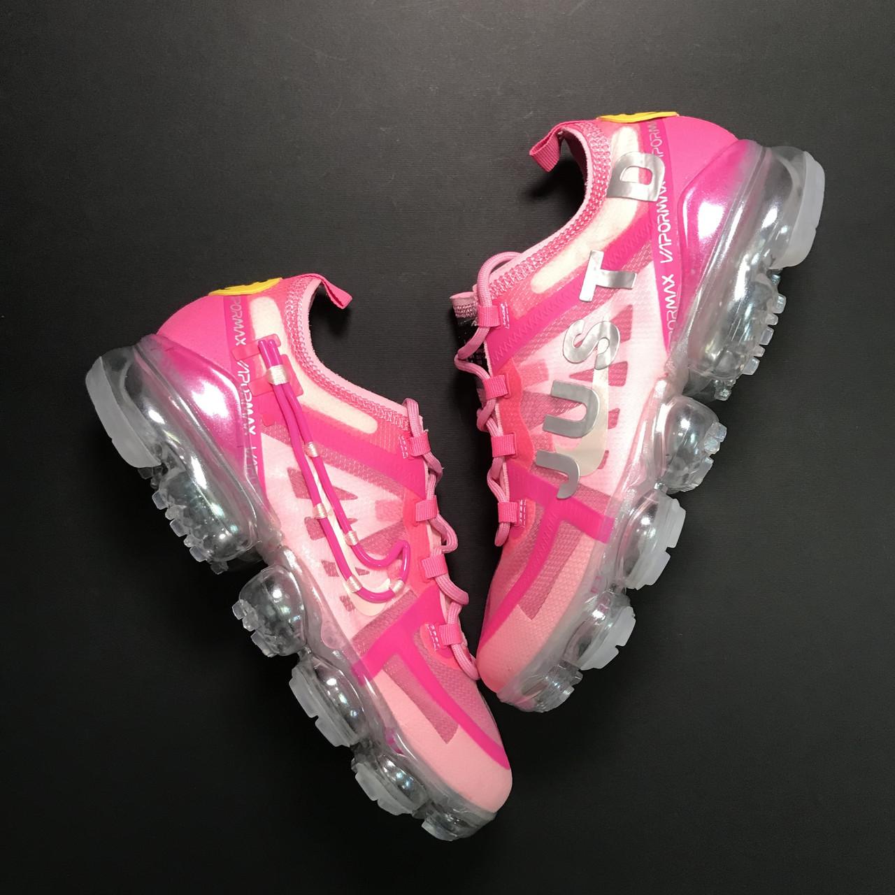 Женские кроссовки Nike Air VaporMax Pink, женские кроссовки найк аир вапормакс