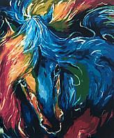 """Картина за номерами PH9310 """"Зимовий пейзаж"""" худ. Віктор Циганов 40*50см"""
