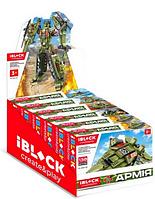 Конструктор набор военный робот Iblock Армия, 6 в 1 PL-920-15 600+дет