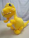 Игрушка-плед Дино желтый, фото 2