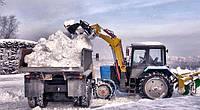 Услуги по уборки территории от снега