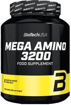 Амінокислоти BioTech - Mega Amino (500 таблеток)