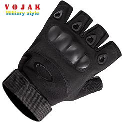 Перчатки тактические OAKLEY беспалые (Black)