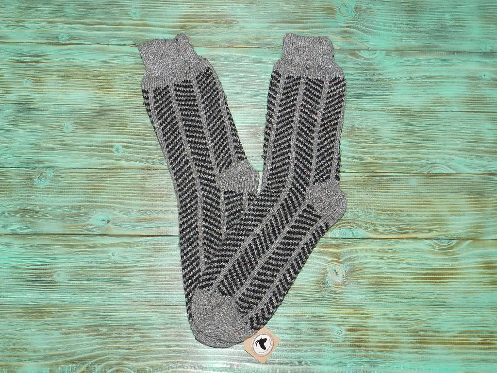 Носки из ангорской шерсти 28 см