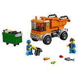 Конструктор LEGO City Мусоровоз 90 деталей (60220), фото 2