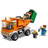 Конструктор LEGO City Мусоровоз 90 деталей (60220), фото 4