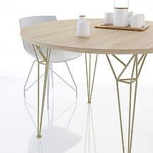 Стол Apollo d120 см TM Levantin Design, фото 3
