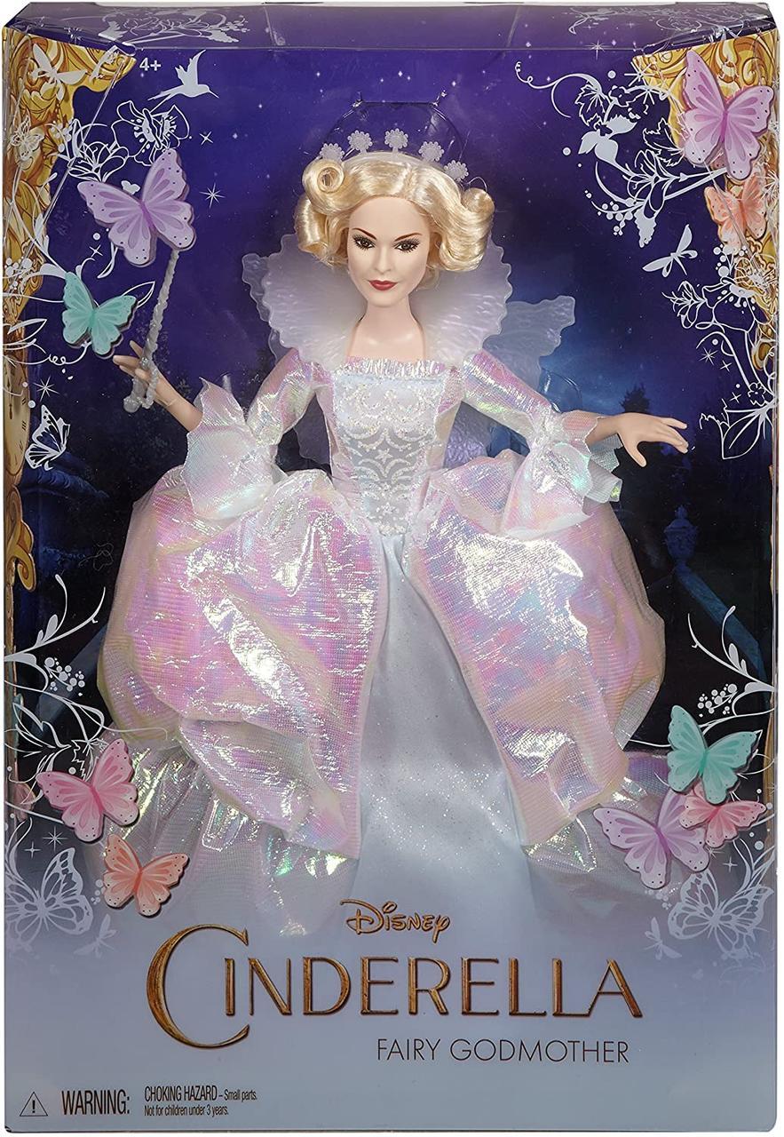 Disney Cinderella Fairy Godmother Doll. Кукла Дисней Крестная Фея (сказка Золушка). Оригинал.