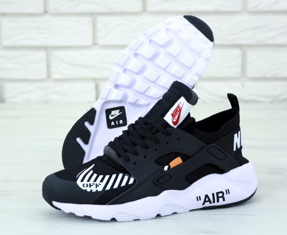 Кроссовки Nike Huarache х Off White, кроссовки найк хуарачи офф вайт (36,37,38,39,45 размеры в наличии)
