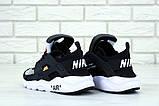 Кроссовки Nike Huarache х Off White, кроссовки найк хуарачи офф вайт (36,37,38,39,45 размеры в наличии), фото 4