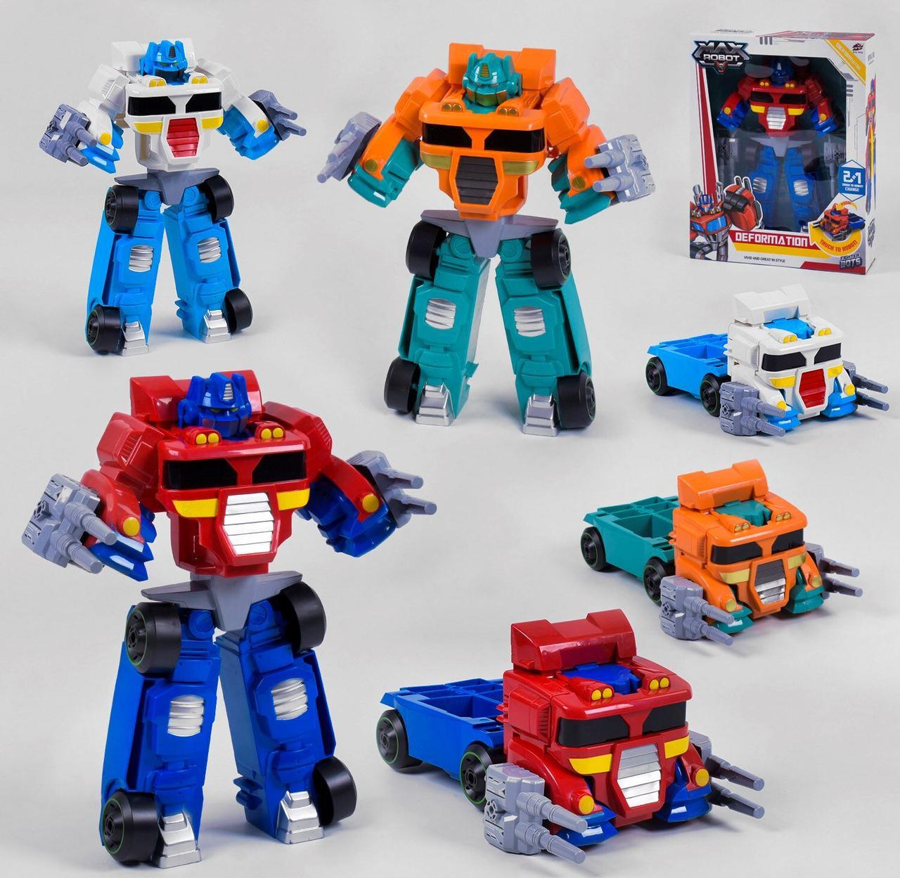 Трансформер  *Робот MAX 2 в 1* в коробке L 015-65 /66/67
