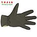 Перчатки зимние на флисе SoftShell (Olive), фото 3