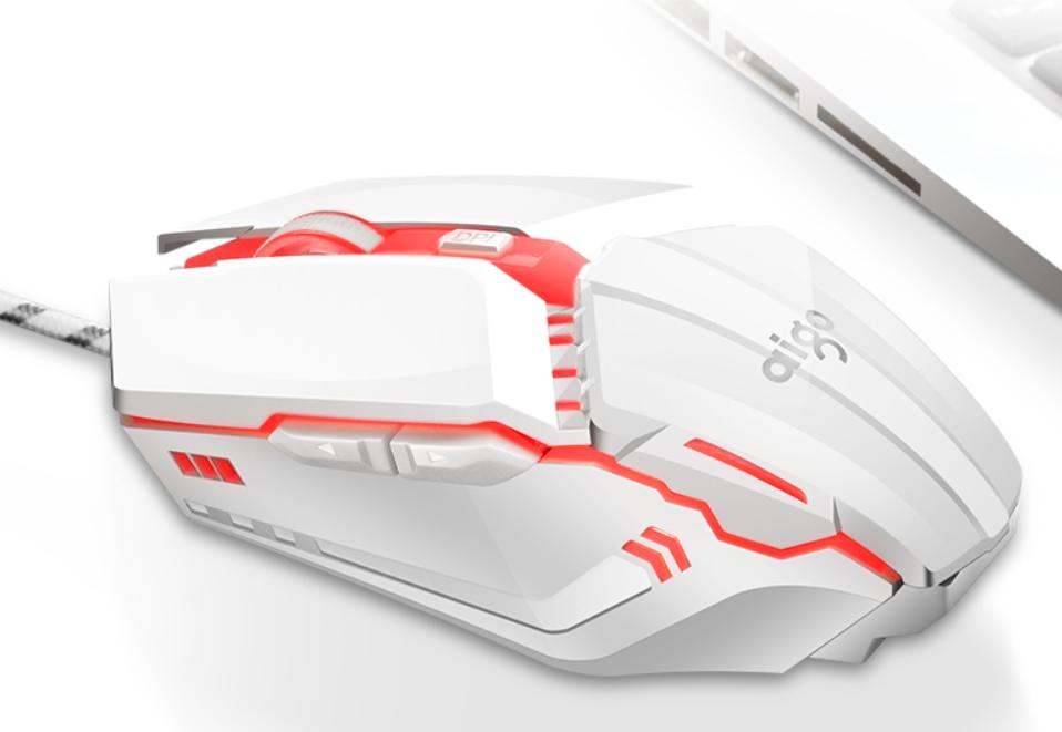 Игровая мышь Aigo (Белый)