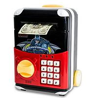 Електронна сейф-скарбничка з кодом РІЗНІ КОЛЬОРИ Валізу