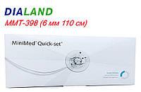 Набір для інфузій Квік Сет 6/43 MMT-398 (6 мм 110 см) 10шт, фото 1