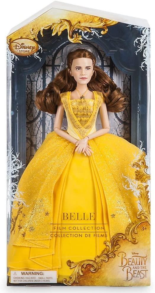 Belle Disney Film Collection Doll Beauty and the Beast Live Action Film - 11 1/2. Кукла принцеса Белль Дисней