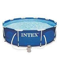 Бассейн каркасный «Intex» 28202NP Metal Frame™ (305-76 см, объем 4485 л)
