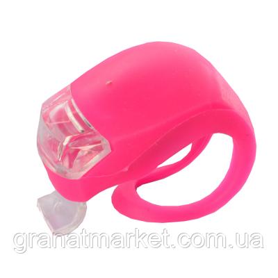 Фонарик для самоката розовый (GS08688)