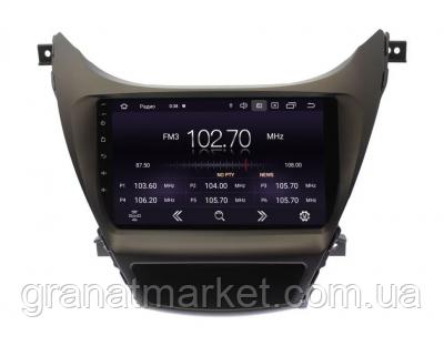 Штатная автомагнитола Hyundai Elantra 2011-2013 9 дюймов магнитола Android 10.1