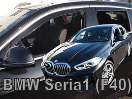 Дефлекторы окон (ветровики) BMW 1 Series F40 2019 -> 5D HB (вставные, кт - 4шт)