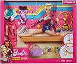 Лялька Барбі Гімнастка з аксесуарами Barbie Gymnastics Doll and Playset (GJM72), фото 2