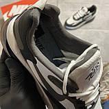 Мужские кроссовки Nike Air Max 270 React Grey White, мужские кроссовки найк аир макс 270 реакт, фото 5