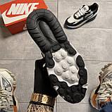Мужские кроссовки Nike Air Max 270 React Grey White, мужские кроссовки найк аир макс 270 реакт, фото 6