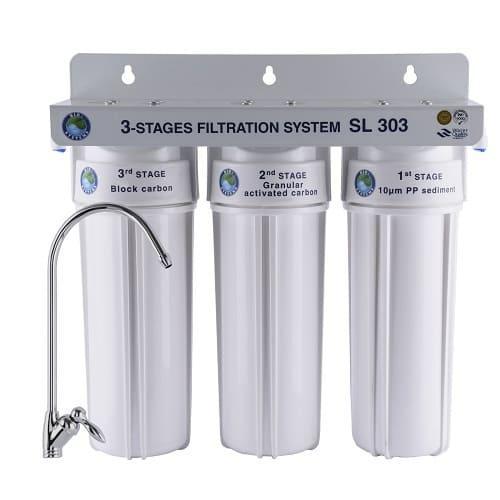 Система 3-х степенного очищения Bio+ systems SL303-NEW + монокран